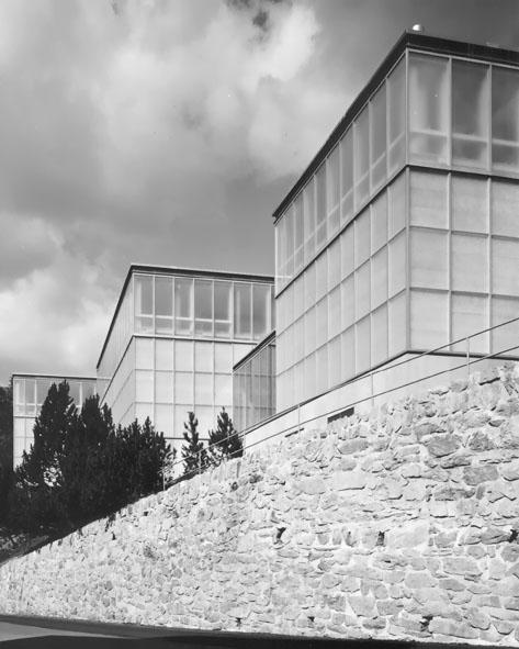 Architektur Zeichnung architektur kirchner museum davos